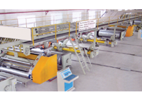 3 and 5 ply automatic paper corrugated board plant | Super